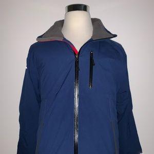 White Sierra Mens Sierra Tee Jacket Blue S